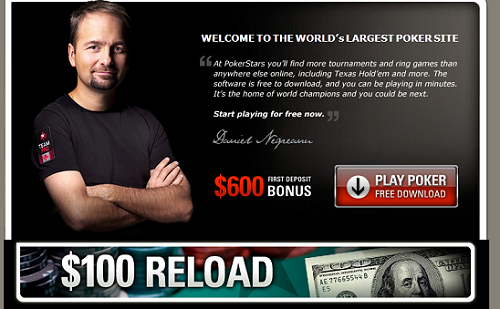 pokerstars real money download